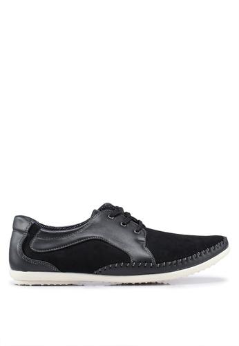 Rocklander black Matarazo Smart Casual Shoes 9D45ASH62CD573GS_1