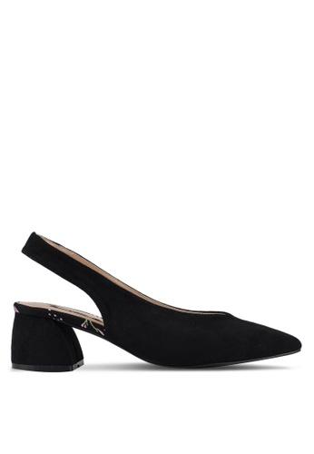 f4353a5d1a Buy Nose Pointy Toe Block Heel Slingbacks Online on ZALORA Singapore