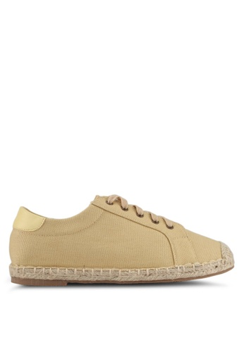 Something Borrowed yellow Sneakers with Espadrille Soles D268ASH04D228DGS_1