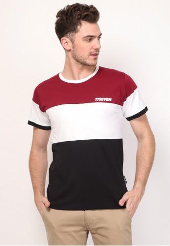 17seven Original red Tshirt 0339-THREE E9626AA0708E92GS_1