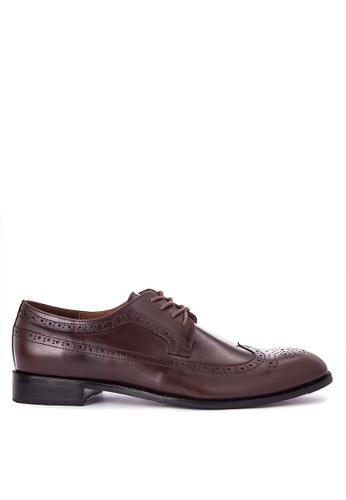 Antonio Manila brown Dexter Formal Shoes AN569SH0JTKLPH_1