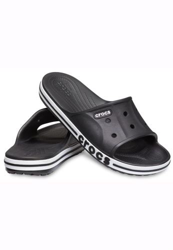 99ede8af2 Buy Crocs Bayaband Slide Blk Whi Online