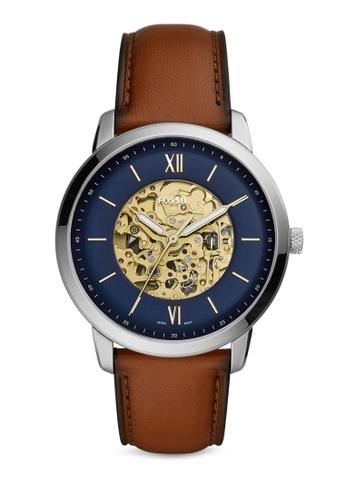 Fossil brown Neutra Watch ME3160 8B7D5AC39BB3D6GS_1