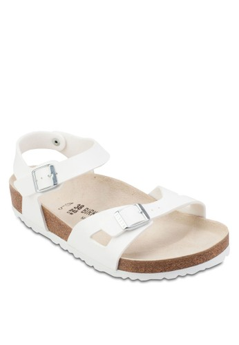 Rio 鏤esprit 台中空扣環繞踝涼鞋, 女鞋, 鞋