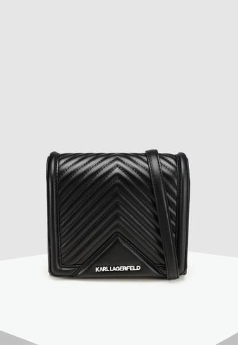 650290db5eec KARL LAGERFELD black Klassik Quilted Small Crossbody Bag 7897EACBD1DAD2GS 1