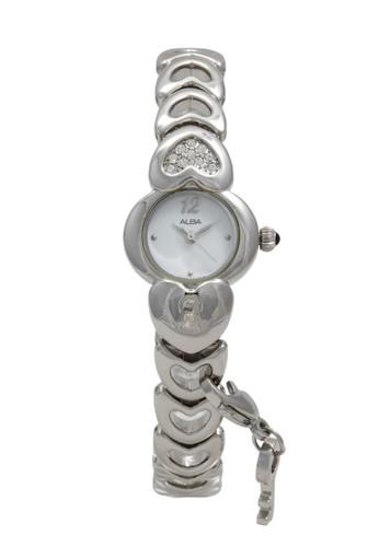 Alba silver ALBA Jam Tangan Wanita - Silver White - Stainless Steel - AC3N27 C7BBDAC29DDE3EGS_1