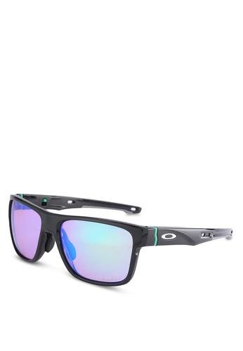 Oakley black Active Performance OO9371 Sunglasses OA636GL99NHKMY_1