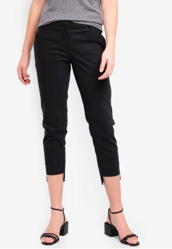 United Colors of Benetton black Satin Pants. E4386AAF5D5C77GS_1
