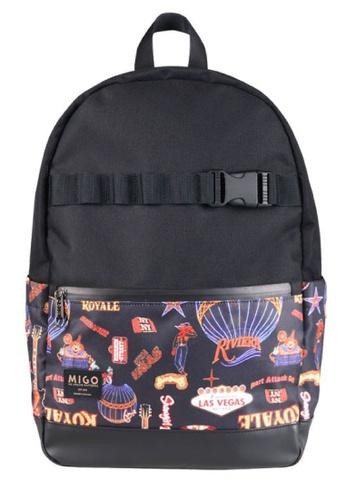 Migo black Lightbox U6 Backpack MI595AC2UXPGHK_1