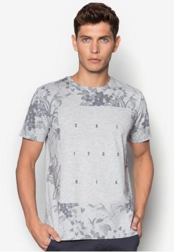 California 印花T 恤, 服飾esprit outlet, 服飾