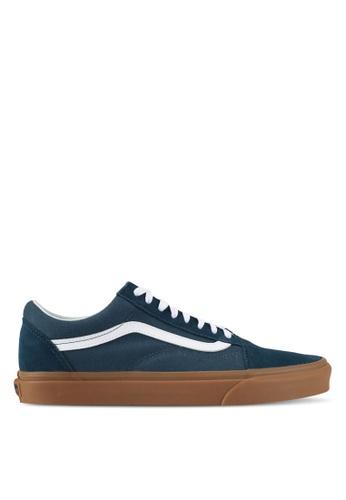 VANS blue Old Skool Sneakers VA142SH0SWT2MY_1