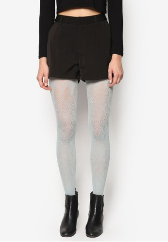 esprit 尖沙咀微透印花圖案褲襪, 服飾, 襪子