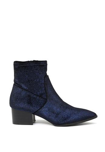 London Rag blue London Rag New Arrival Women's  Sparkling Glitter  Boots SH-1494 LO704SH2UYQTHK_1