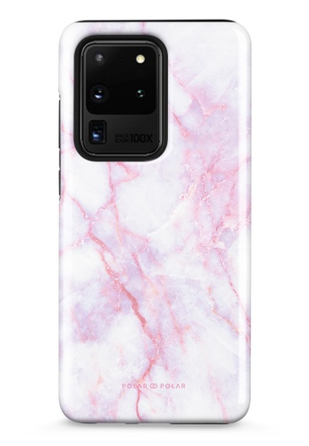 Polar Polar pink Pink White Samsung Galaxy S20 Ultra 5G Dual-Layer Protective Phone Case (Glossy) 6E8DEAC3E2CC45GS_1