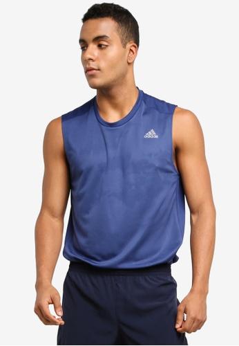 adidas navy adidas rs sleeveless tee m AD372AA0SUHGMY_1
