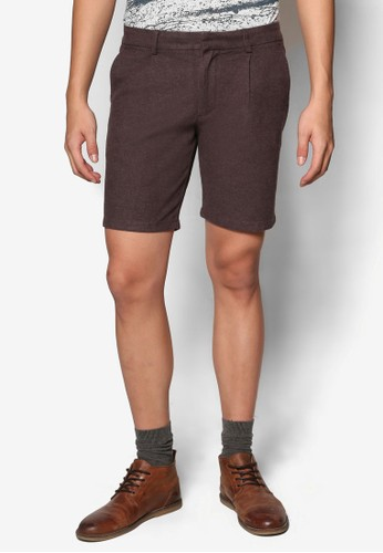 esprit hk分店褶飾五分短褲, 服飾, 短褲
