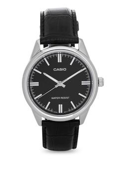 Round Analog Watch MTP-V005L-1A