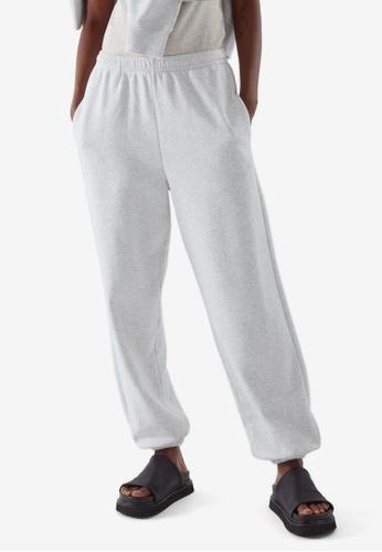 Cos grey Elasticated Jogger Pants 56287AA9235D23GS_1