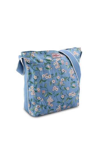 Cath Kidston blue Forget Me Not Zipped Messenger Bag 3C340AC5F2A1D2GS_1