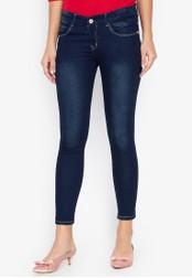 CHILI PEPPER blue Low Rise Skinny Jeans 68F9BAA1E938A9GS_1