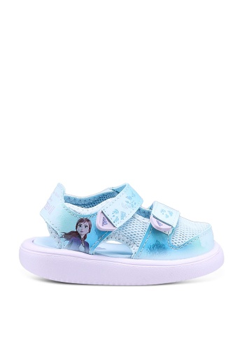 ADIDAS 藍色 comfort water sandals 47C8DKS581729FGS_1