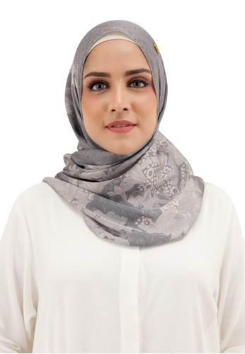 Buttonscarves grey Buttonscarves Maharani Twistant Grey 2772BAAEB6FB55GS_1