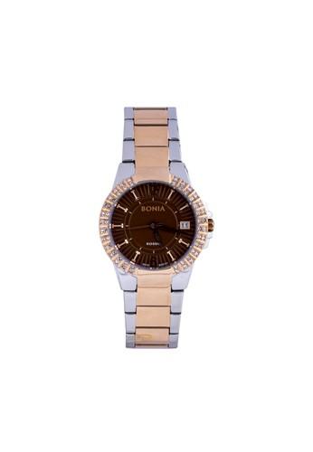 BONIA silver Bonia Rosso - BR161-2642S - Jam Tangan Wanita - Silver Rosegold A22ACAC8B48417GS_1