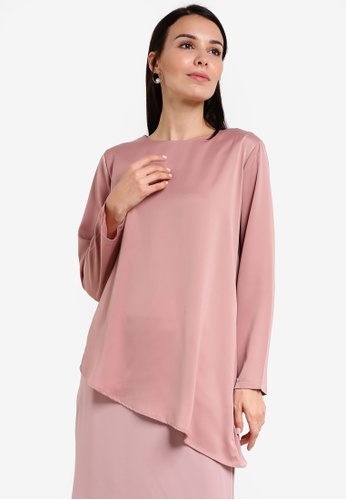 BYN pink Muslimah Blouse BY059AA78VIVMY_1