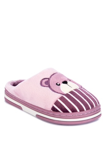 Appetite Shoes purple Kid's Bedroom Slippers 3E7F2KS48E78C4GS_1
