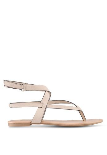 Call It Spring beige Husien Sandals 71FB3SH0A0BB7EGS_1
