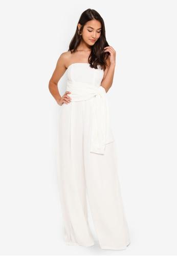 6232a7a698 Buy Glamorous White Jumpsuit Online on ZALORA Singapore