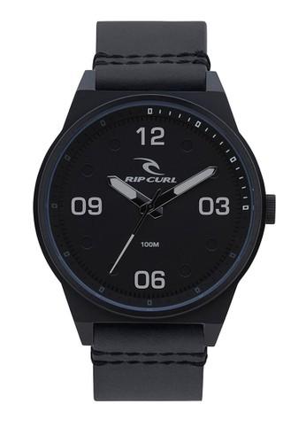 Rip Curl black Sheer Midnight Leather Watch 6DD06ACC348EF9GS_1