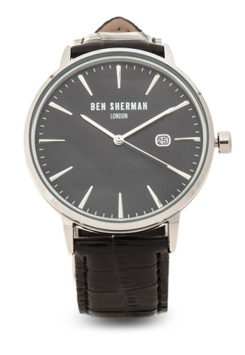 Ben Sherman black Portobello Professional Analog Watch BE007AC48NPJPH_1