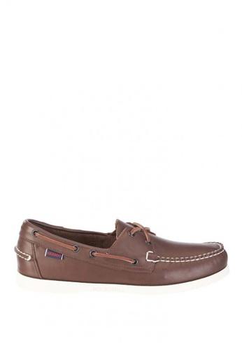 Sebago brown Mens Docksides Boat Shoes SE328SH0J4Y6PH_1