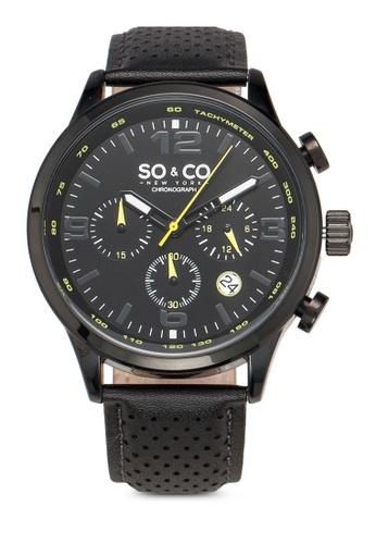 SO&CO black Monticello 5279 Watch F0992AC2B8CE04GS_1
