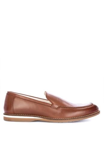 Mendrez brown Clark Formal Shoes 70401SH1042EB6GS_1