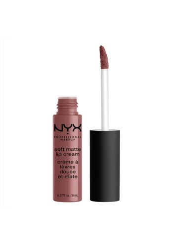 NYX Professional Makeup brown NYX Professional Makeup Soft Matte Lip Cream - TOULOUSE B3336BE2C899A6GS_1