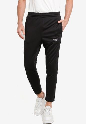 Reebok black Classics Linear Track Pants C6117AA227A13AGS_1