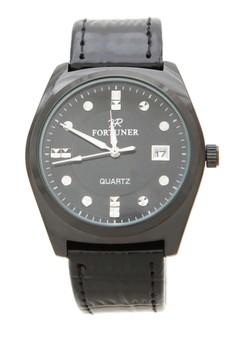 harga Fortuner Watch Jam Tangan Pria FR K1011BG - Full Black Zalora.co.id