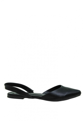 BENCH black Slingback d'Orsay Flats BE550SH0KE47PH_1