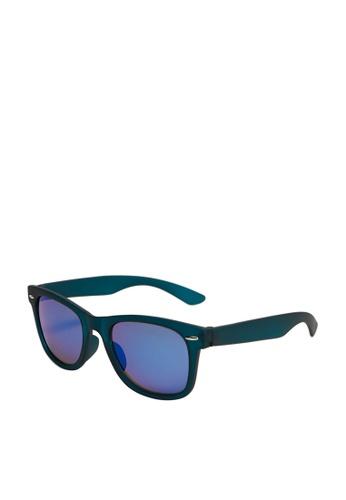 MANGO KIDS blue Squared Frame Sunglasses 1D616KC2D39839GS_1