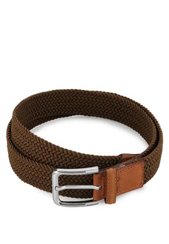 EAGLE Genuine Leather Elastic Belt W30-Ct