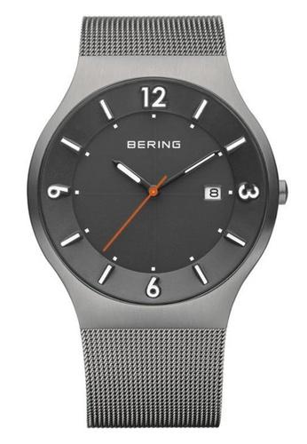Bering grey Classic 14440-077 Black 40 mm Men's Watch 842CEAC6707C6DGS_1
