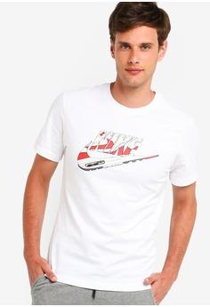 e8dfc6a5 Nike white Men's Nike Sportswear Sznl Am 1 Tee 514F9AA1283DD0GS_1