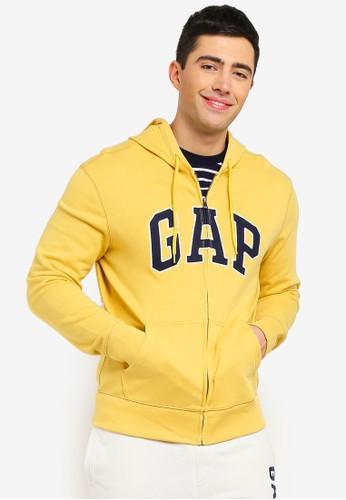 GAP yellow Gap Arch Hoodie 9E1ECAAFF7F6D9GS_1