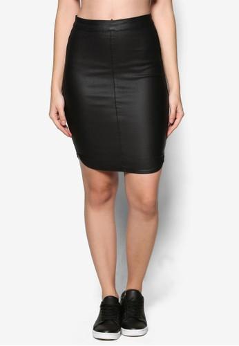 Bunny 圖zalora 衣服評價層短裙, 服飾, 裙子