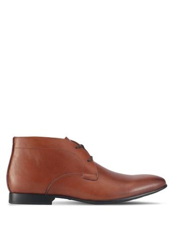 ALDO brown Gerrawen Boots 9186CSHEA7E272GS_1