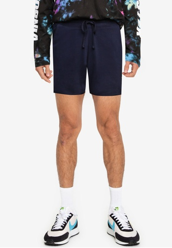 Hollister navy Solid Sweat Shorts 225C3AA476B3C7GS_1