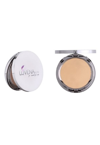Luvena Glitz Cosmetic silver Luvena Glitz Two Way Cake Beige 8AA41BE701E6DEGS_1