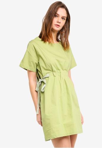 Haute Kelly green Mee Dress 86D33AA6088E2BGS_1